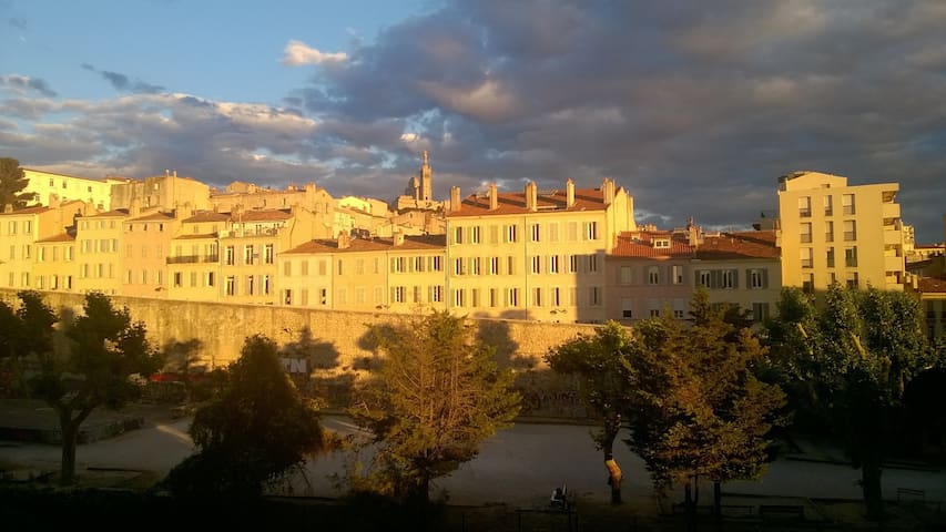 Big and nice apartment near Vieux Port - Marseille - Huoneisto