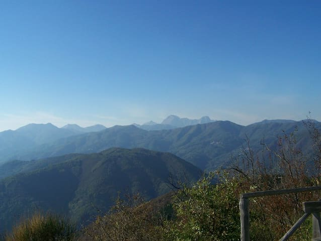 View from the Croce Di Brancoli which is a 3k walk