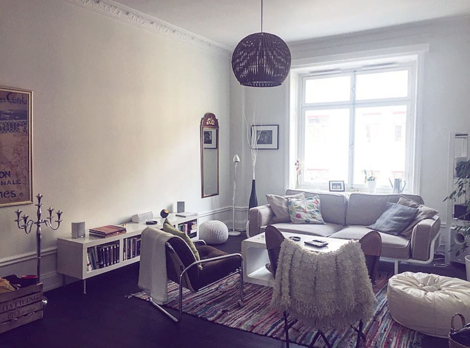 Cosy and bright living room