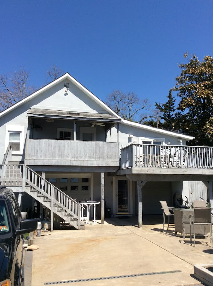 Ski Chalet at the Jersey Shore