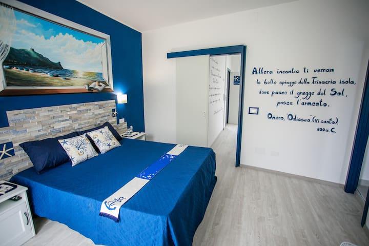 stanza da letto con vista