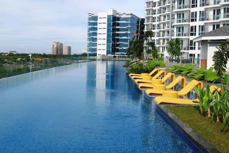 Gorgeous Condo with Oceanview at Mactan Newtown