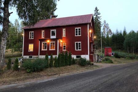 Rustic house between Oslo-Stockholm