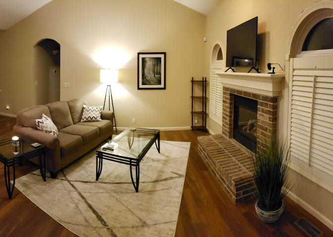 Great value private room and full basement