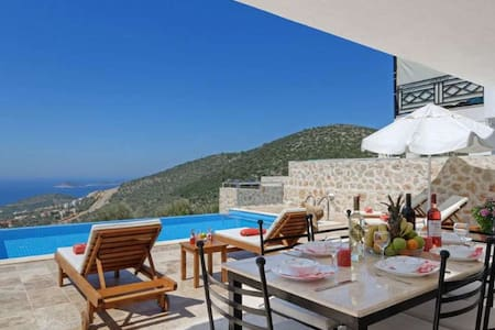 Villa Naz with private pool and sea view - Kaş - Villa