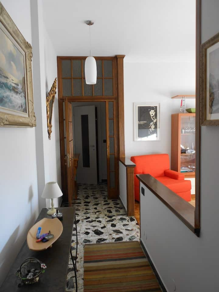 A very central flat in Biella