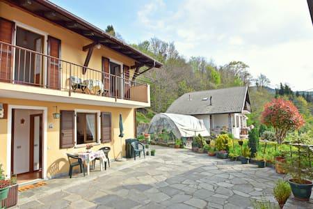 Holiday home in quaint, quiet village near the Lago Maggiore
