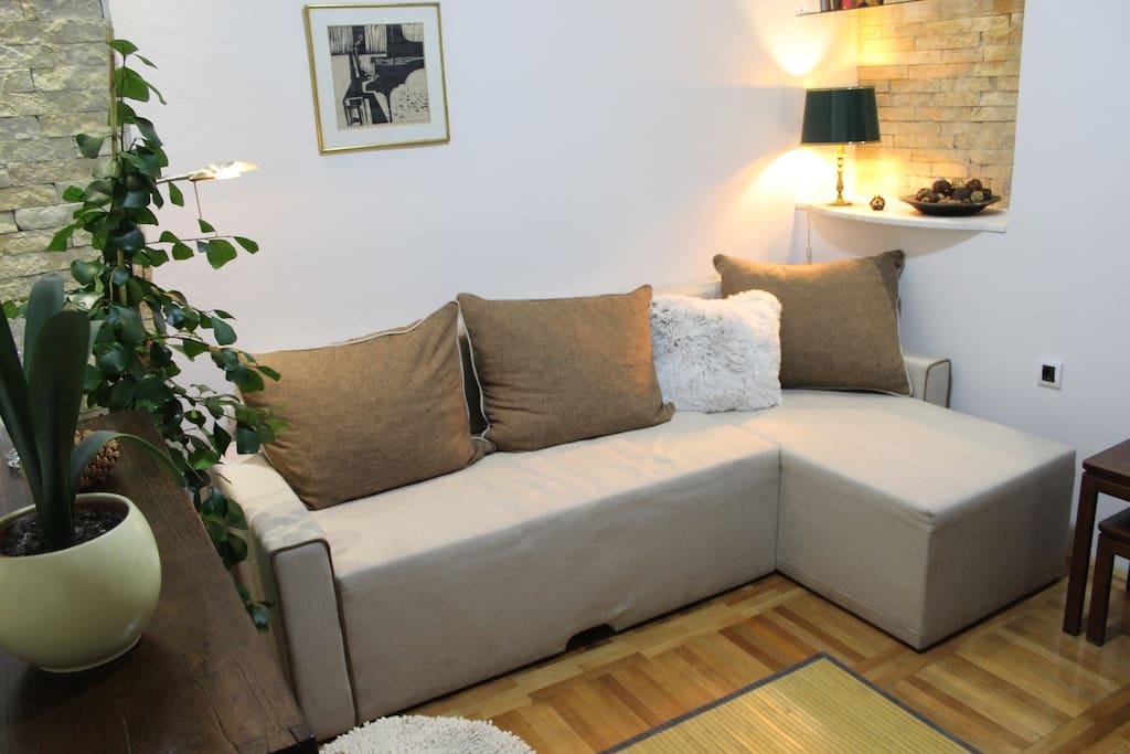 Downtown studio apartment