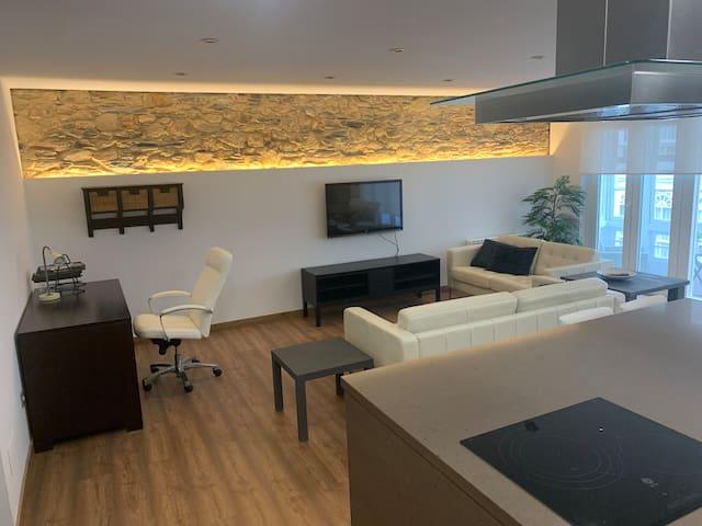 Apartamento entero, céntrico y moderno