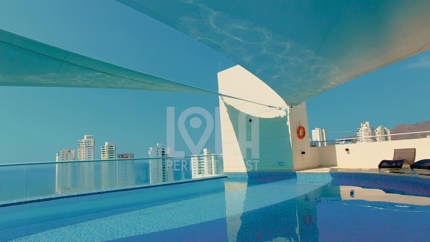 Superb new apartment at South Rodadero -LoLa5