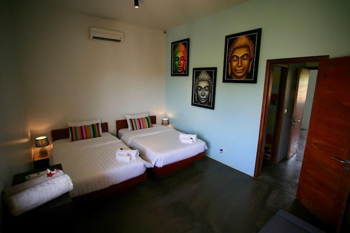 "1st floor ""Buddha"" bedroom"