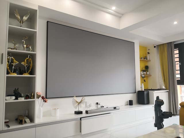 「梦想家」近云洞岩福隆城三室一厅公寓60万装修/现代简约温馨大床1.5米