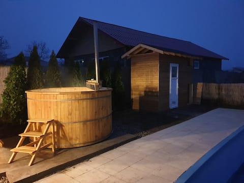 Casa din Vie, piscină încălzită, întreaga locație