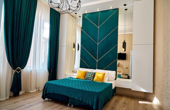 Квартира с индивидуальным дизайном