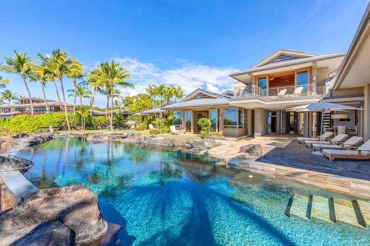 Private Luxury Estate w/Pool & Central A/C, The Bluffs 22 at Mauna Kea Resort