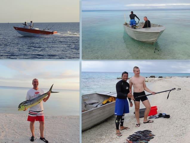 pêche au gros / chasse sous marine