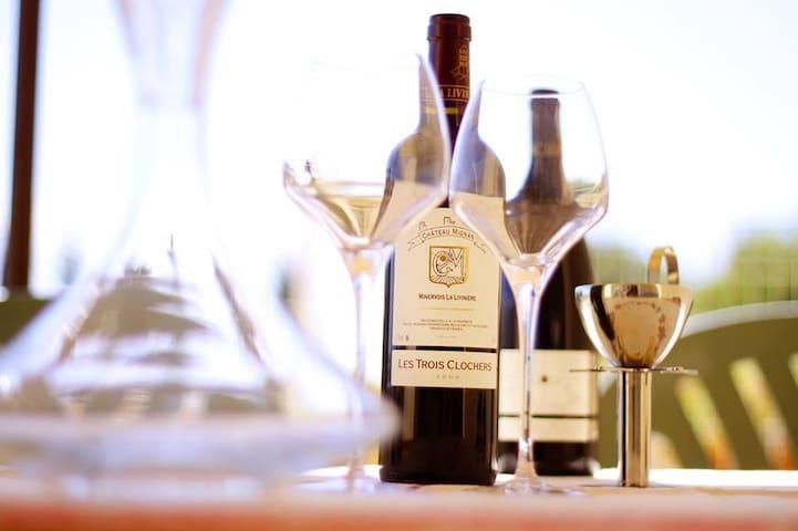 Mas au cœur d un domaine viticole en Minervois