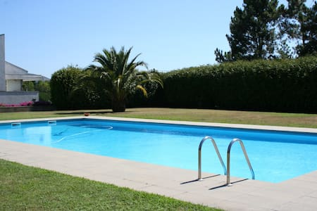 Beautiful house with pool, tennis court and garden - Vilar de Mouros - Casa