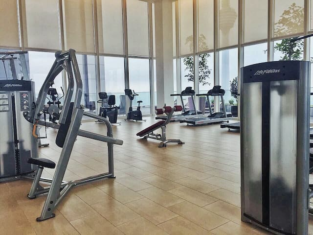 Gym access for all guests