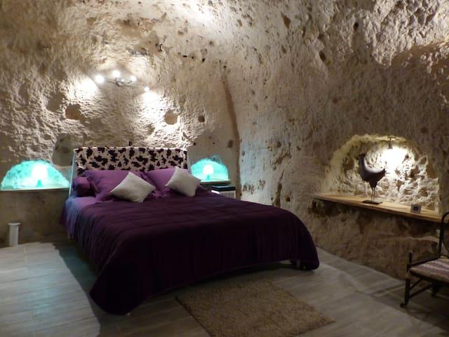 Cave de la Tourette entièrement troglodytique. - Les Roches-l'Évêque - 洞窟