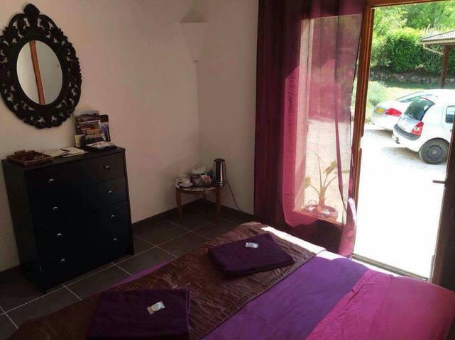 Vu d'ensemble chambre