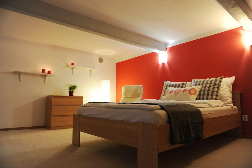 Bed room/ mezzazine