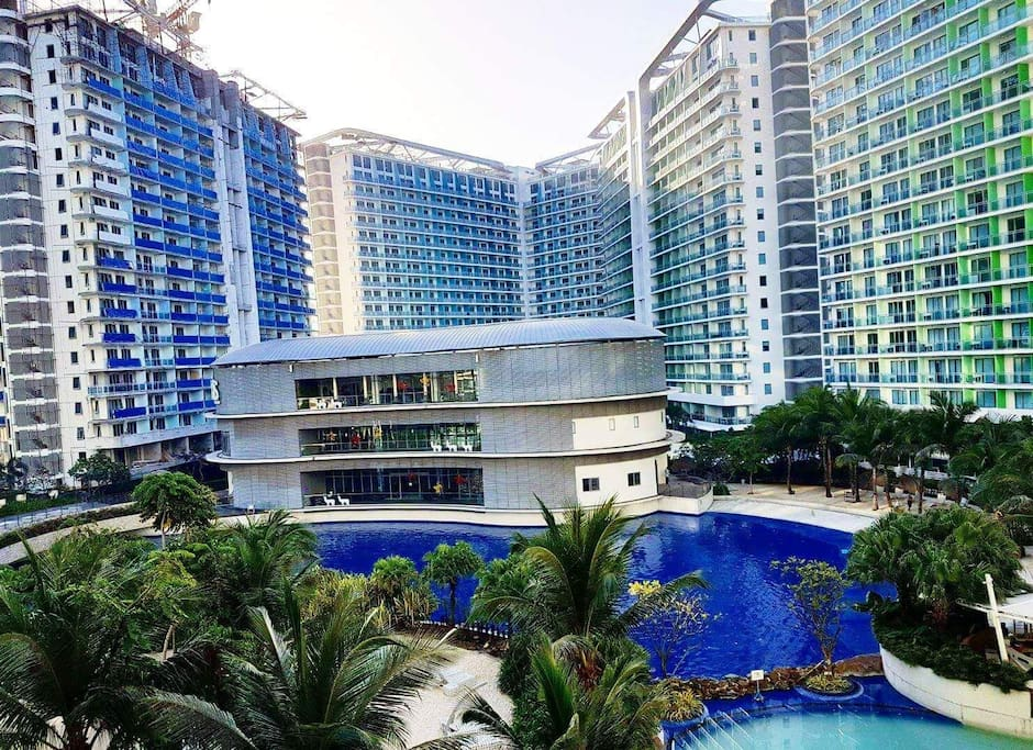 Azure urban resort residences is a resort where you can feel the vibe of summer everytime you will visit here.This is the most famous wave pool within the heart of a busy city of Manila.