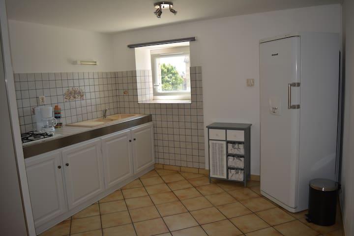 Appartement dans une ferme rénovée - Les Villettes - Pis