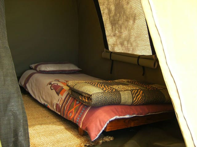 Safari Tent in a Private Nature Reserve