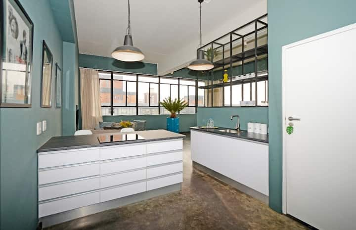Joziloft studio apartment in the heart of Maboneng