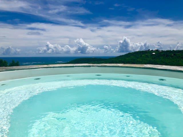 Villa Solstice : Le Marin - Villa avec vue