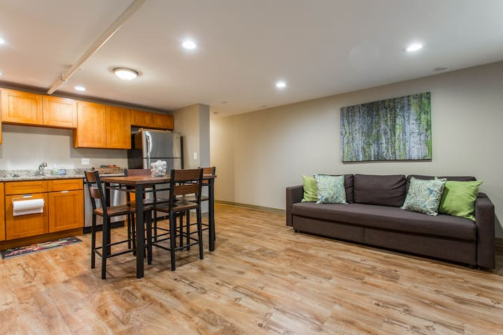 Spacious Apartment minutes from Downtown/McCormick