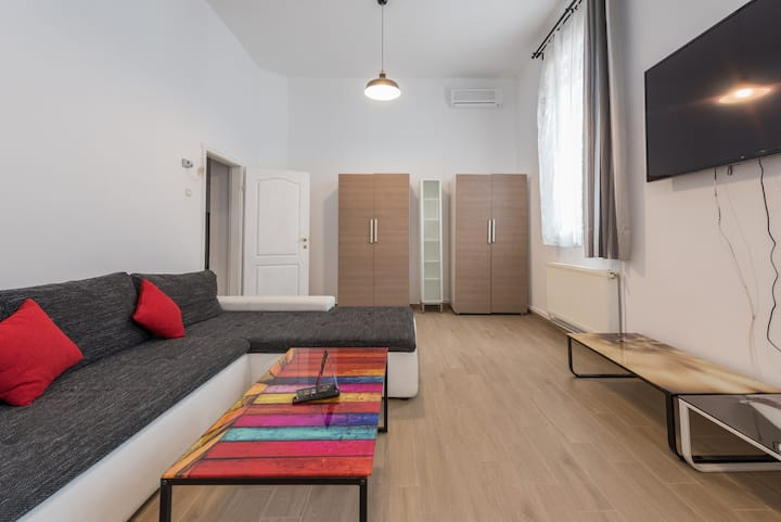 Bucharest Central Villa with a Large Livingroom