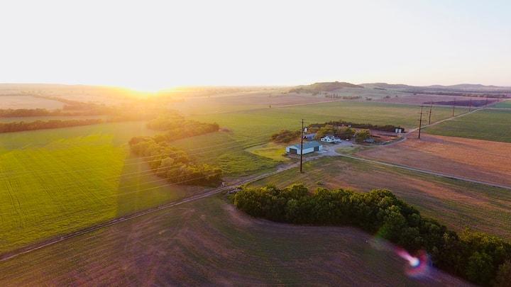 Farm Stay Outside of Lindsborg