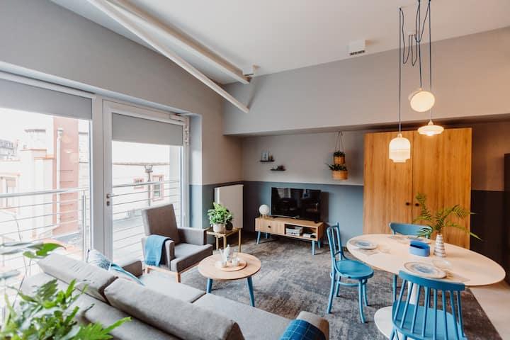 Mosquito Silesia Apartments - Sky Blue