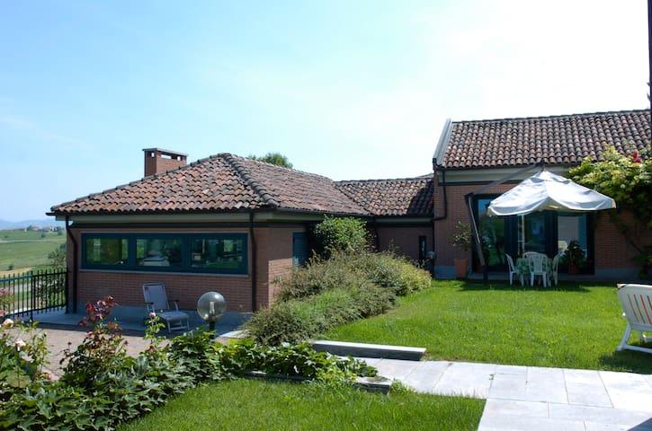 Villa Valentina nel Monferrato Unesco - Agliano - Hus