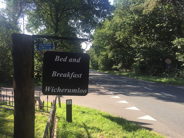 Bed & Breakfast 'Wicherumloo'