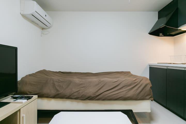 【宜野湾市・大山】1名様までご利用可能なコンドミニアム形式のお部屋401号室 - Ginowan-shi - Apartment