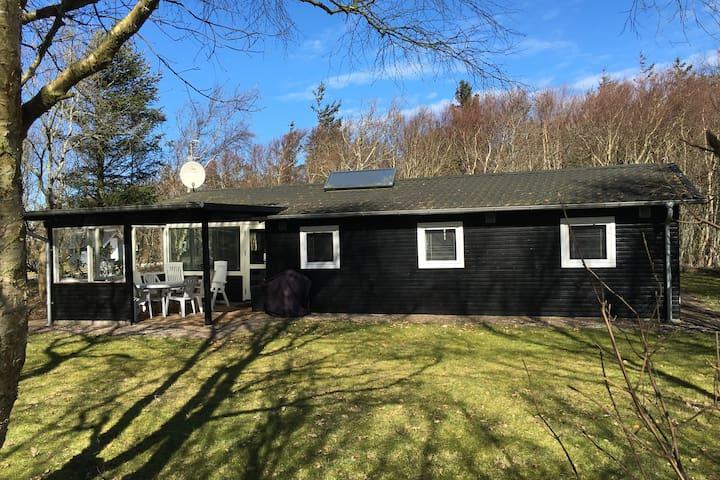 Sommerhus 100 meter fra børnevenlig strand - Løgstør - Srub