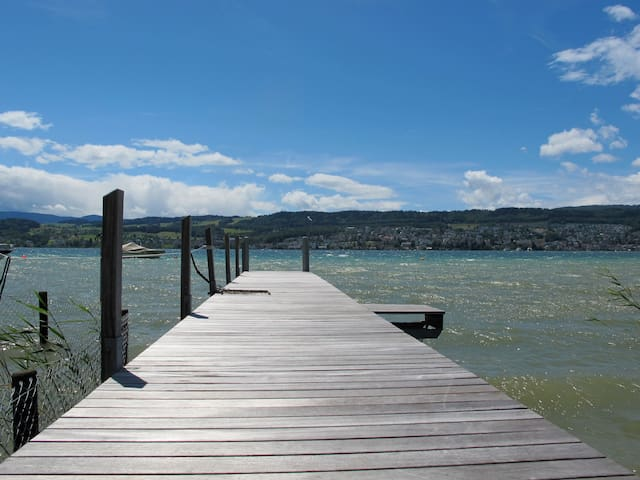 Beautiful flat on lake Zurich - Meilen - Wohnung
