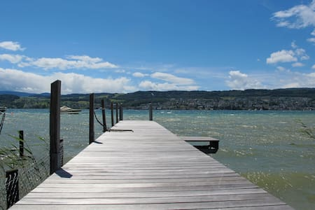 Beautiful flat on lake Zurich - Meilen - Apartament