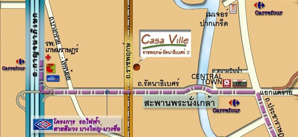 Casa Ville Ratchaphruek-Rattanathibet2