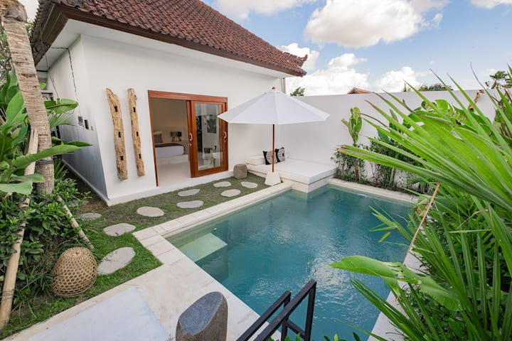 Luxury Villa Putih 2 bedroom in Pererenan