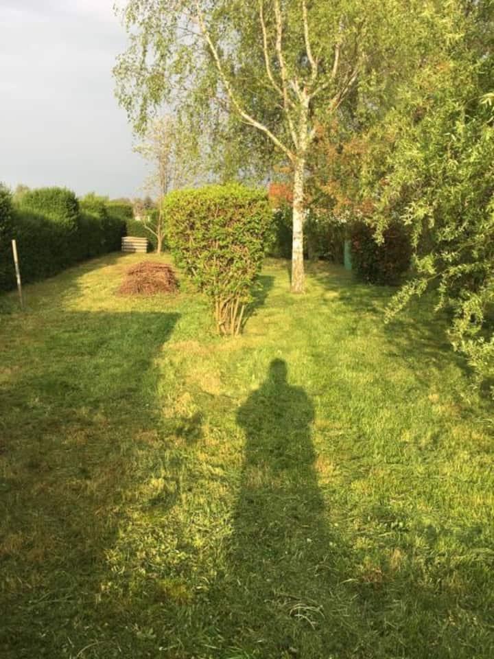 Haus mit Garten im wunderschönen Oderbruch