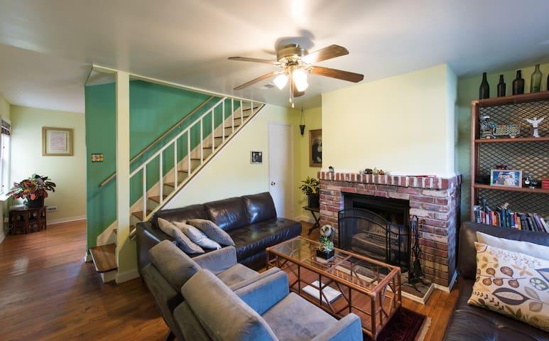 Charming H Street area house - Washington - Casa