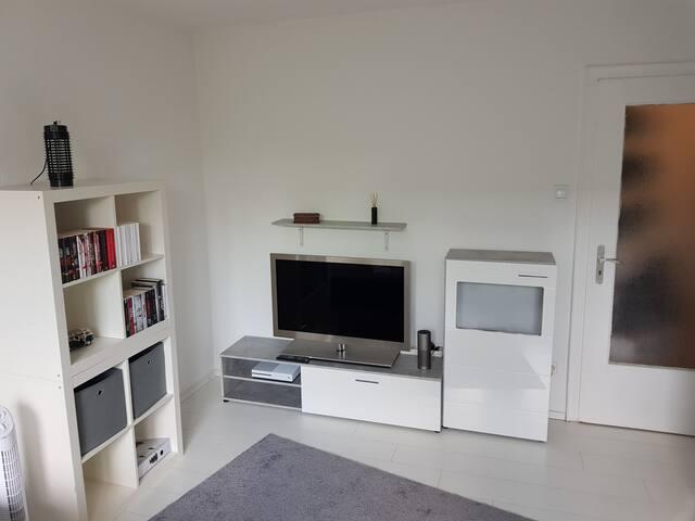 Schöne helle 1 -Zimmerwohnung, stadtnah