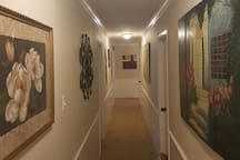 Locally Inspired Art Throughout The Home