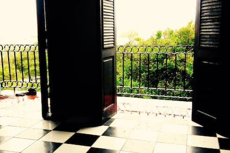 Historic Balcony Apt Plaza Colón - Apartment