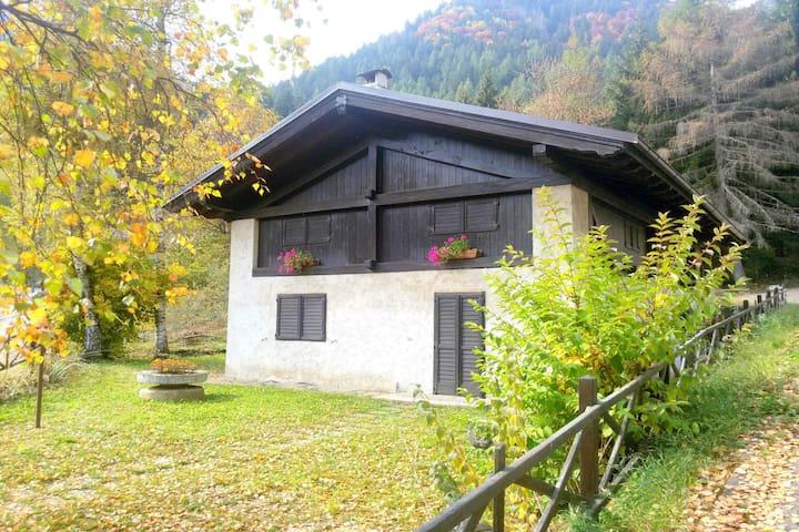 Belle ferme de montagne restaurée, dans le Val di Non