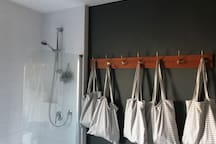 Shower and storage